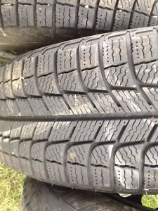 4 Michelin x-ice winter tires.  195 65 15. Peterborough Peterborough Area image 4