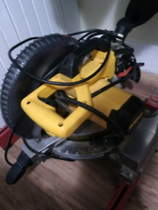 "Dewalt 10"" mitre saw. New"