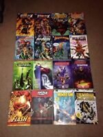 Brand new marvel and DC graphic novels super cheap!!!
