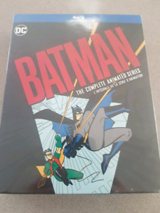Batman complete animated series Blu Ray box set unopened