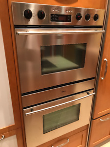 Bosh four double - double oven stainless steel