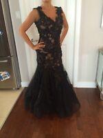 Black Mon Cherie Mermaid dress