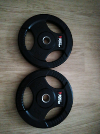 Brand new body max 2 X 5kg standard barbell plates collection Romsey