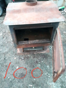 Old wood stove