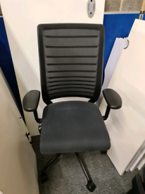Interstuhl ergonomic office chair (minor scuff on mesh)