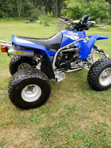 2006 yamaha blaster $1000 obo I need cash now so try your offer
