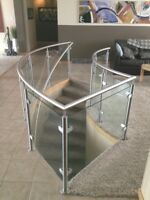 Custom Steel and Glass Railings and Staircases