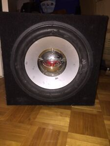 Selling my used Sub and Amp