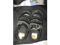 Black school shoes Clark's £7 1G