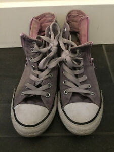 Girls Converse shoes (size 2)