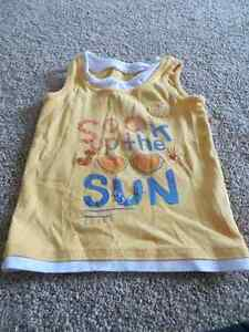 9 Girls size 5 tank tops and t-shirts Kitchener / Waterloo Kitchener Area image 1