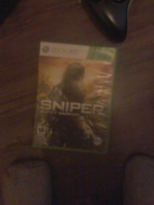 Sniper ghost warrior for xbox 360