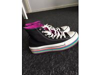 Womens converse trainers size 7