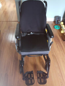 Folding Lightweight Wheelchair Used Once
