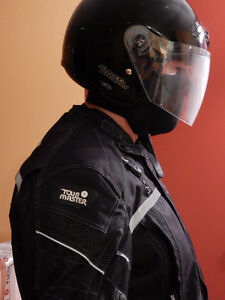Tour Master Motorbike Suit and Helmet