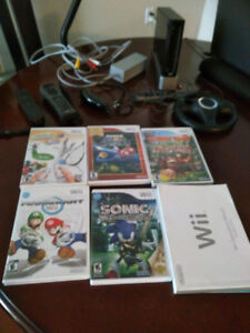 Wii games and console plus parts for it