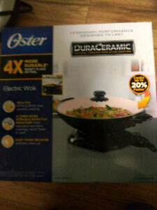 (NEW in box) Electric Wok
