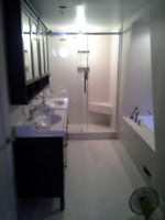 Complete bathroom remodeling starting from $6000.00