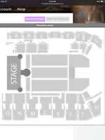 2 SHANIA TWAIN Tickets GP Oct 21st