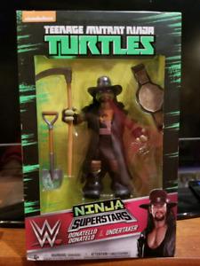 NINJA TURTLES WWE COMPLETE SET HARD TO FIND