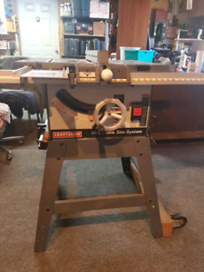 Table saw buy or sell tools in oshawa durham region kijiji craftsman 10 table saw greentooth Choice Image