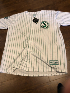 Saskatchewan Roughriders Mens 3XL Baseball Softball Jersey -BN!