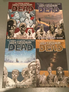 Walking Dead x 4 Comics