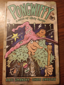 Pongwiffy first edition children's book