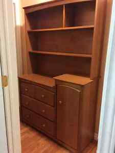 Stork Dresser and Hutch for sale, bought new. St. John's Newfoundland image 1