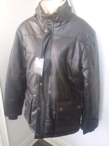 Men leather jacket /clothing