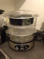 Panasonic microwave, mixer, steamer and a grill