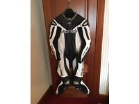 Arlen Ness Magnesium 1 piece race leathers - size 42