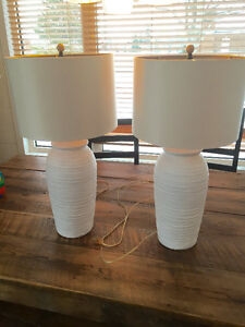 Coastal style table lamps. Like new