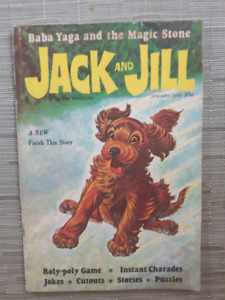Vintage Jack and Jill magazines