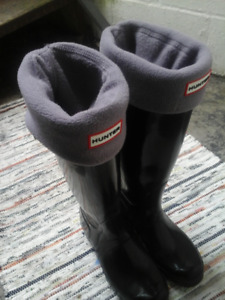Hunter Boots with Inserts