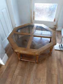 Unusual shaped coffee table