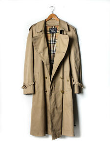 Vintage Burberry Trench Coat 48R (With Interior Lining)