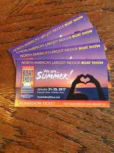 Toronto boat show 4 passes