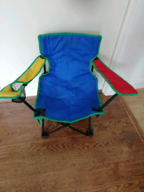 Kids folding garden chair