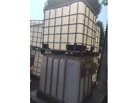 1000litre IBC water Tank