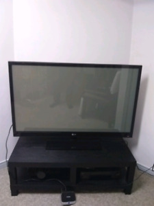 """50"""" LG TV WITH THE REMOTE CONTROL"""