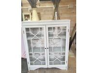 Refurbished Display cabinet with glass doors