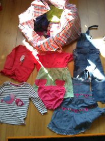 Girl's clothes aged 18-24 months - large bag