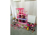 Barbie's 3-Storey Dream House ( not available in the uk)