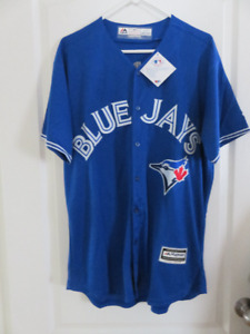 BNWT - TORONTO BLUE JAYS PILLAR JERSEY - XL(48)