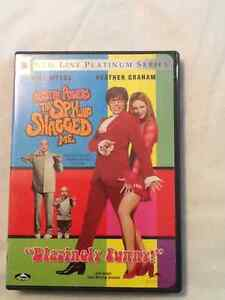 Austin Powers - The Spy Who Shagged Me movie on dvd