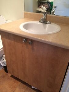 Vanite salle de bain/vanity and sink