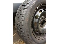 Spare wheel (ford, Peugeot)