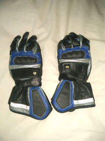 Belstaff leather motorcycle gloves