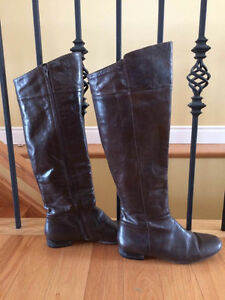 Nine West Brown Tall Boots